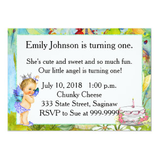 First Birthday Party Invitation Vintage Princess