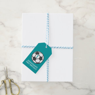 First Birthday Soccer Ball Favor Tag Pack Of Gift Tags