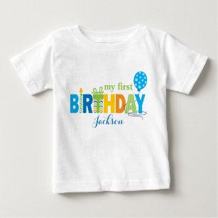 first birthday t-shirt rainbow t-shirt personalised birthday t-shirt Personalised 1st Birthday t-shirt,1st birthday rainbow t-shirt