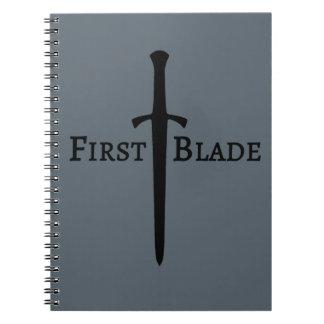 First Blade Notebook