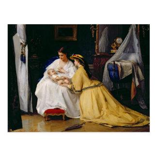 First Born, 1863 Postcard