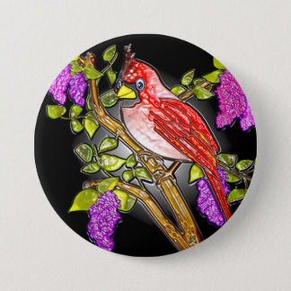 "First Cardinal (3"" lapel pin) 3 Inch Round Button"