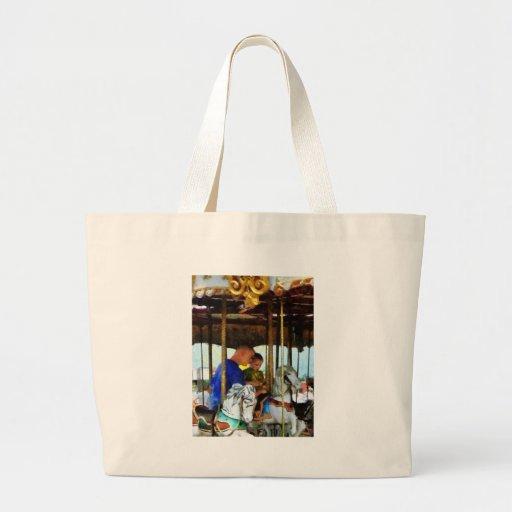 First Carousel Ride Canvas Bag