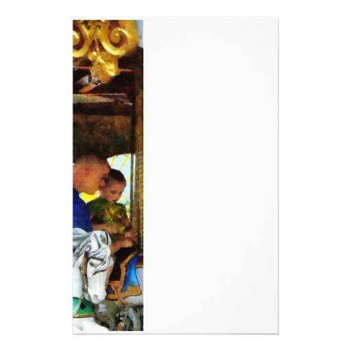 First Carousel Ride Stationery