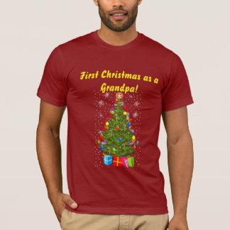 First Christmas as a Grandpa T-Shirt