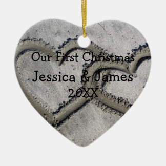 First Christmas Ceramic Ornament