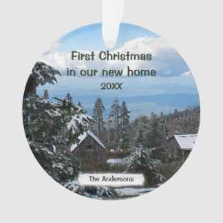First Christmas in our new home Personalize