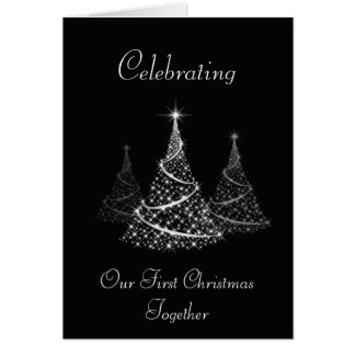First Christmas together card