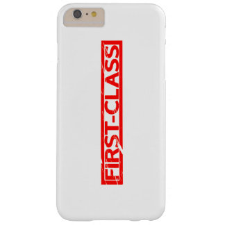 First-class Stamp Barely There iPhone 6 Plus Case