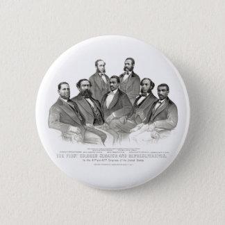 First Colored Senator and Representatives 2 Inch Round Button