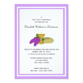 First Communion Bread of Life Card