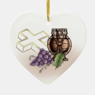 First Communion Commerative Ceramic Ornament