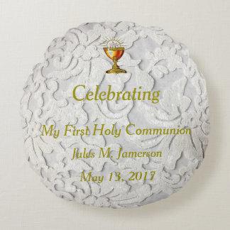 First Communion*  CUSTOM MADE *  A Treasure Round Pillow