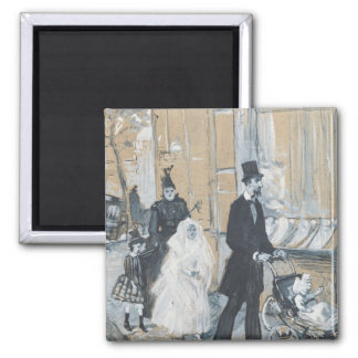 First Communion Day, 1888 Magnet