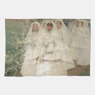 First Communion Hand Towel