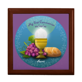 First Communion Holy Eucharist Memory Box
