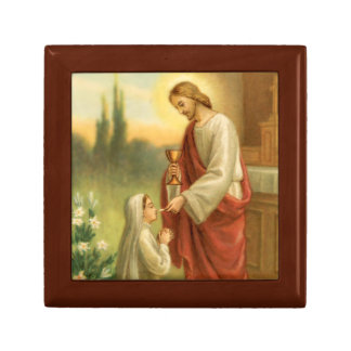 First Communion Keepsake: Eucharist in All Things Gift Box