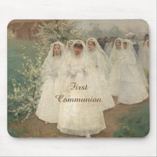 First Communion Mouse Pad