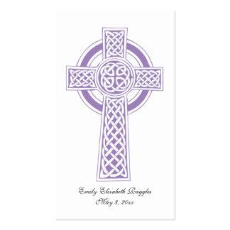 First Communion Prayer Card Business Cards