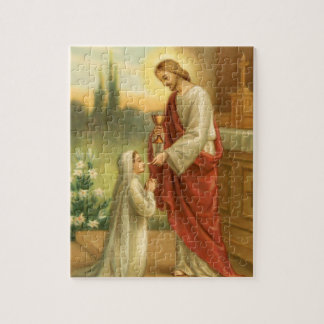 First Communion Puzzle: Eucharist in All Things Jigsaw Puzzle