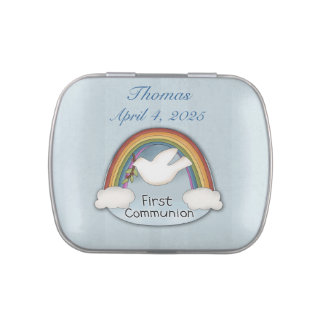 First Communion Rainbow and Dove