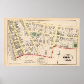 First Congregational Church Atlas Map Poster