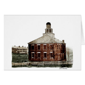 First Courthouse In McMinnville Tennessee Card