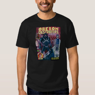 First cover for Oberon Destroyers Issue No. 1 Shirts
