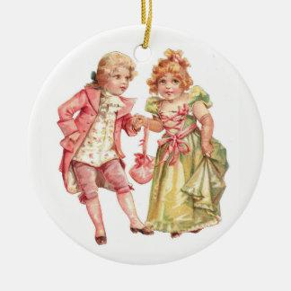 First Dance Ceramic Ornament