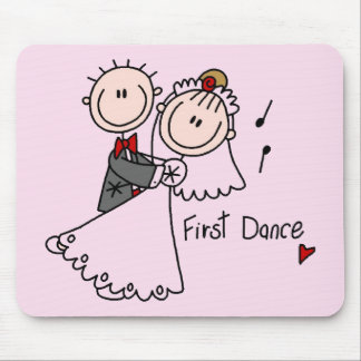 First Dance Wedding Tshirts and Gifts Mouse Pad