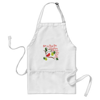 First Day Christmas Standard Apron