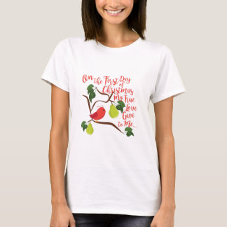 First Day Christmas T-Shirt