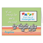 First Day of KindergartenMice and SMART Board Card