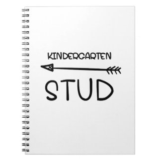 First day Of School 2017  Kindergarten Studs Notebook