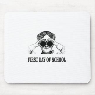 first day of school mouse pad