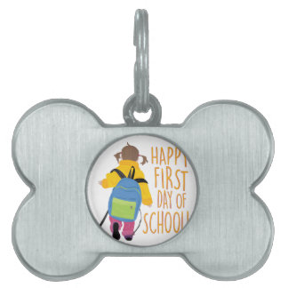 First Day School Pet Tag