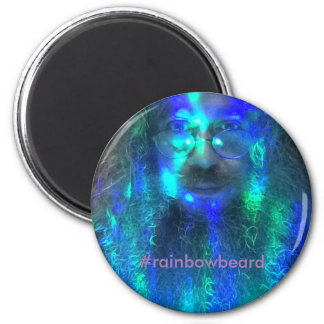 First Edition Official Rainbowbeard Magnet