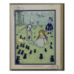First Edition Wizard of Oz Children's Book Image Poster
