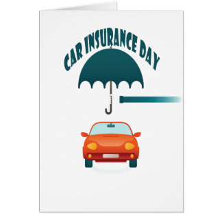 First February - Car Insurance Day Card