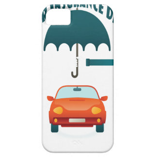 First February - Car Insurance Day iPhone 5 Case