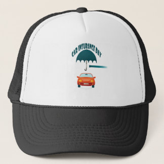 First February - Car Insurance Day Trucker Hat