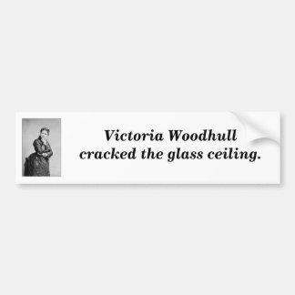 First Female President Bumper Sticker