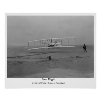 First Flight Poster