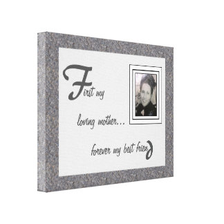 First & Forever Canvas Print