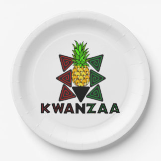 First Fruit Kwanzaa Party Paper Plates
