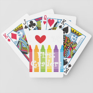 first grade teacher2 bicycle playing cards