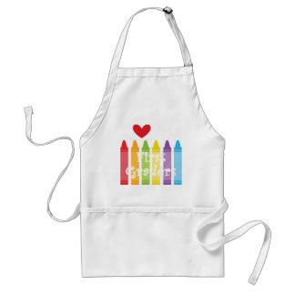 first grade teacher2 standard apron