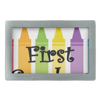 first grade teacher belt buckles