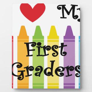 first grade teacher plaque
