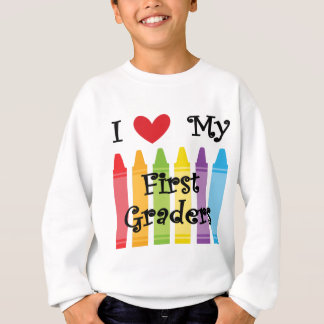 first grade teacher sweatshirt